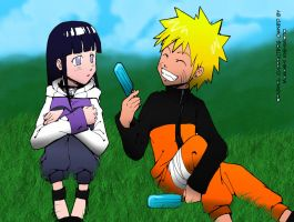 Colors - NaruHina :D by DarkChocaholic