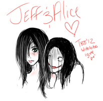 .:JeffAndAlice:. by TamedBlackBird