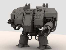 Dreadnought powerfist version by Akiratang