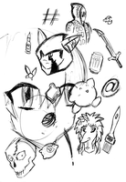 Doodle Monday 0002 by Nesasta