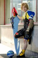 Tidus cosplay by Alexcloudsquall