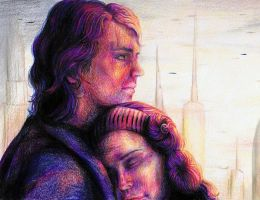 Anakin and Padme by DontSpeakSilent