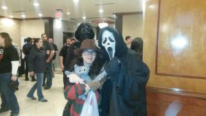 Monster Mania 2014- Ghostface Cosplay by ZIMSULTIMATELUVA