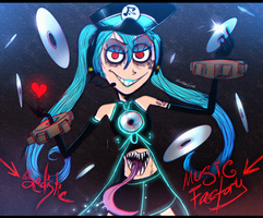 VOCALOID - That Sadistic Music Factory (Trade) by Atlas-White