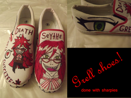 Grell Shoes by GayMenDancing