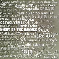 Font Pack 02 by reallydeadgirl