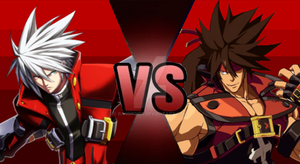 Ragna VS Sol Badguy (Updated!) by Randroid7