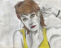 Hayley Williams- Paramore by Ez0rus