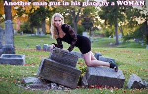 a WOMAN puts him in his place by GirlzRuleOwnFuture