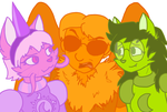 The Furry Squad by Moonstruck-badger