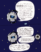 SPOILERS-Wheatley In Space by tinybit92