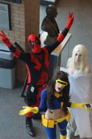 Castle Point Anime Convention 2013 - X-Men by kamau123