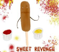 CORN DOG REVENGE by Rainezi