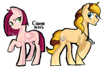 Cheesepie Fanfoal: Chim Cherry and Cherry Lucky by Carranzis