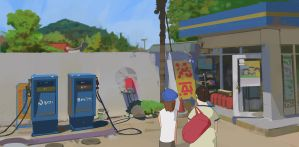 15/365 At the gas station by snatti89