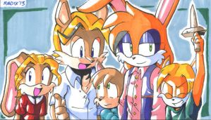 D'coolette Family by General-RADIX