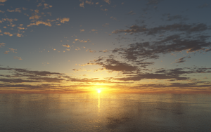 Again A Sunset by debugger20