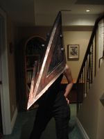Pyramid Head Cosplay :D by ObsidianHyena
