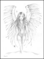 Angel of beauty by Zindy