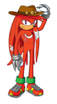 Knuckles - 5 Years Later by ShadOBabe