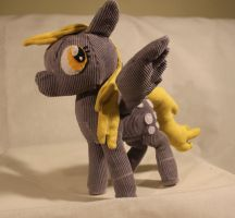 Derpy Hooves Plush: Side 2 by TheRedBandit