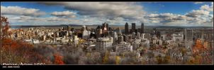 Montreal, Autumn 2007 by fervalosious