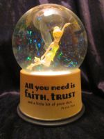 Tinkerbell Snowglobe by Avi-the-Avenger