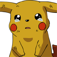 Pikachu Crying. by TwistedFeverComics