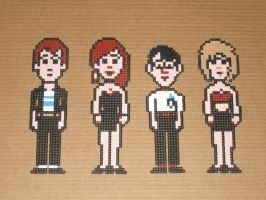 Maniac Mansion bead-sprites 01 by zaghrenaut