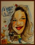 Audra Caricature by AudraMBlackburnsArt