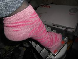 lovely socks and..... usb hdd by Malinka-N