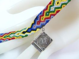 For the Love of Reading Frienship Bracelet by QuietMischief