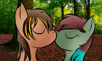 Collab: Hockley Woods Kiss by Zoruaofepic