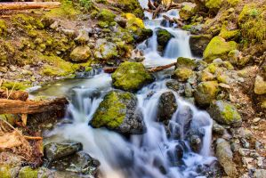 Hdr Waterfall 2 by ackbad