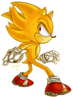 Super Sonic Sketch by Heilos