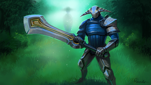 Sven The Rogue Knight by Reinder88