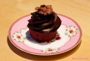 Raspberry-Chocolate-Crossies-Cupcakes by Cailleanne