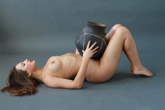 Woman and Vase-Stock-4 by ERIEYE-STOCK