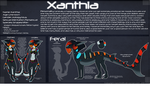 Xanthia Reference 2011 by ClaraWolfe