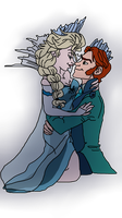 Elsa and Hans vector by DanielaEspinoza19