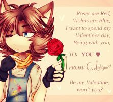 { Be my Valentine } by r0sque