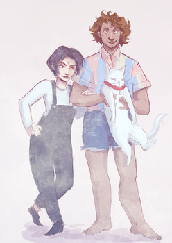 Sabriel - Fashion Disasters by irezel