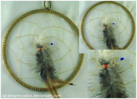 Feathered Dreamcatcher by SD-DreamCrystal