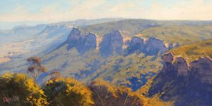 Blue Mountains Australia by artsaus