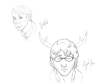 Hannibal Doodles by BuryTheMaid