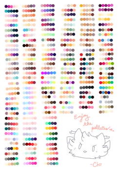 have some palettes by pyqmy