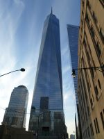 One World Trade Center by towerpower123
