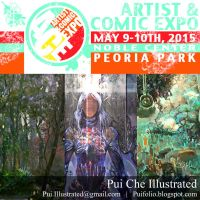 Artist and Comic Expo May 9-10th 2015 by Puillustrated