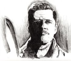 Lt. Aldo Raine  is a Basterd by Xolt
