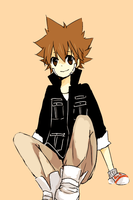 tsuna again by tokoco